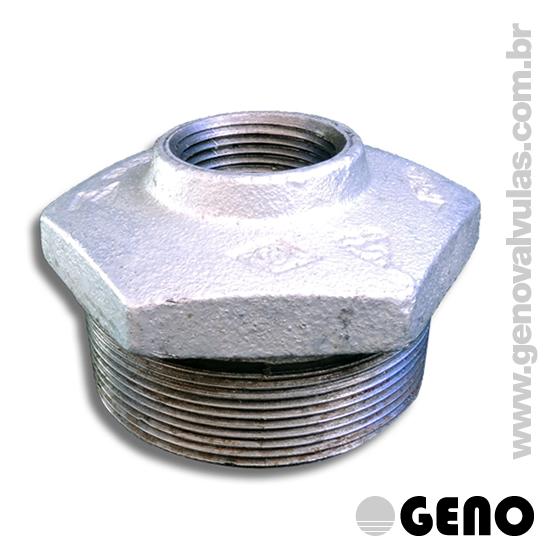 As conexões em Ferro Maleável Galvanizado são indicadas para redes de água Residencial, Comercial e Industrial, para de Rede de Combate a Incêndio, Hidrantes e Sprinklers.