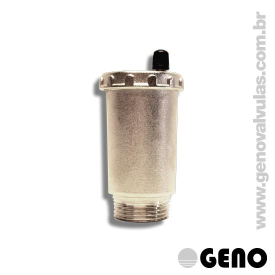 Ideal para instalações prediais de água e aquecimento. Aplicável em equipamentos e instalações industriais. Para admissão e saída de ar das tubulações.