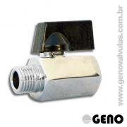 Ideais para controle de fluxos de pequenos diâmetros, sistemas de ar comprimido, equipamentos, instalações e utensílios industriais diversos.