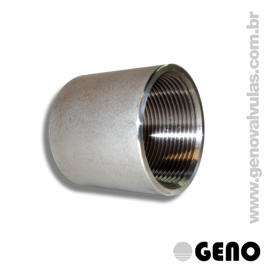 As conexões em Aço Inox (AISI 304) são indicadas para redes de Água, de Fluídos Líquidos, Ar e Gás, em indústrias alimentícias, químicas, cosméticas, petroquímicas, petrolíferas e de equipamentos em geral .