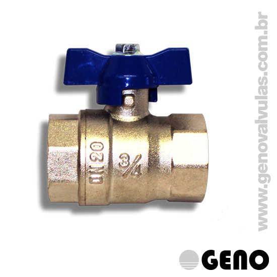 Ideais para controle de fluxos, com rápida abertura/fechamento (1/4 de giro) adequadas para instalações prediais, industriais, irrigação, ar condicionado, ar comprimido e aquecimento.